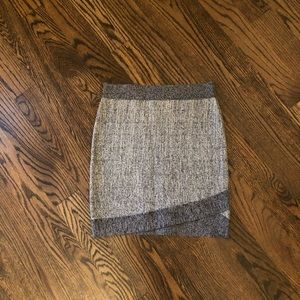 Guess Grey bandage mini skirt